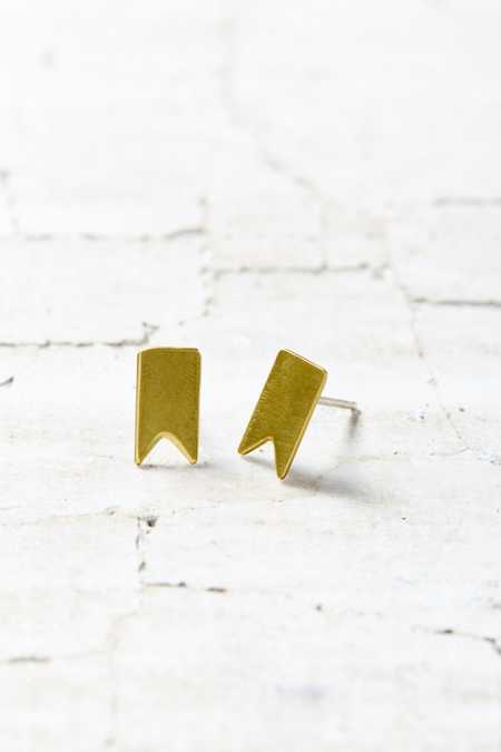 Natalie Joy Pennant Post Earring