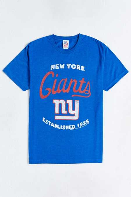 Junk Food New York Giants Tee