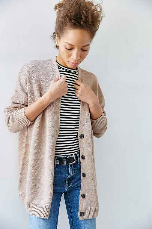BDG Hit Snooze Cardigan,NEUTRAL MULTI,L