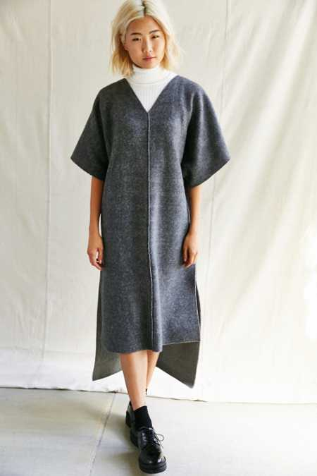 Urban Renewal Remade Cozy Deep V Dress