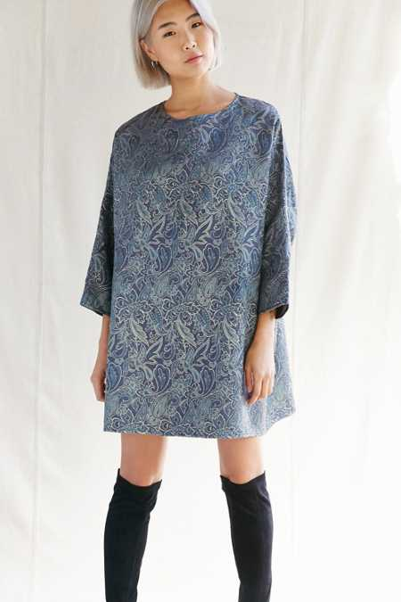Urban Renewal Remade Brocade Sack Dress