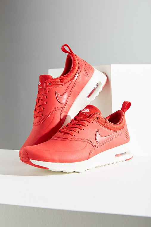 Nike Air Max Thea Premium Sneaker,RED,5