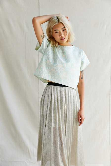 Urban Renewal Remade Brocade Boxy Tee