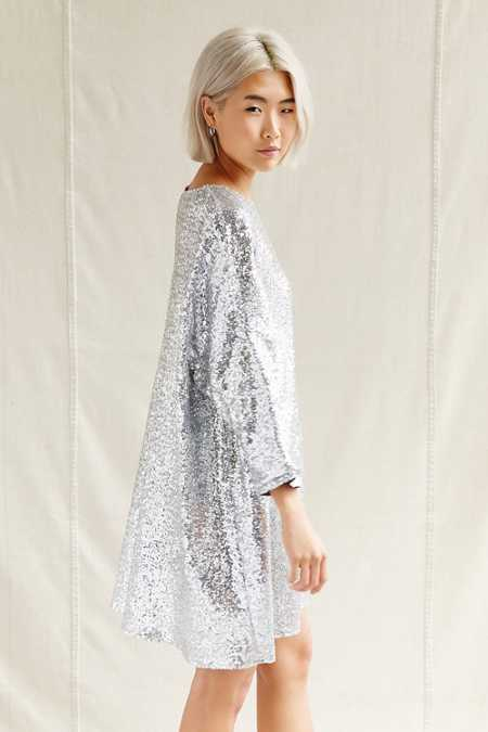 Urban Renewal Remade Sequin Sack Dress