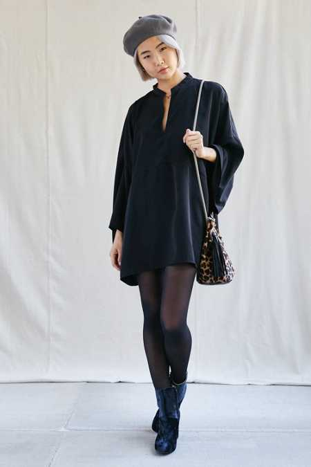 Urban Renewal Remade Kimono Sleeve Tunic Dress