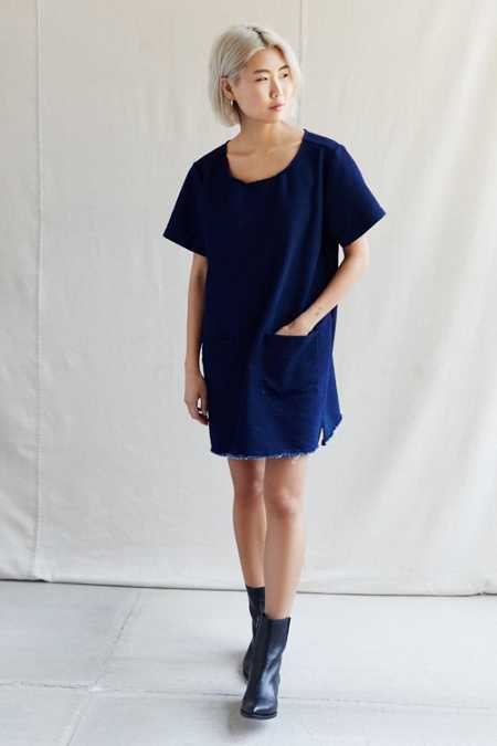 Urban Renewal Recycled Patch Pocket Denim Dress
