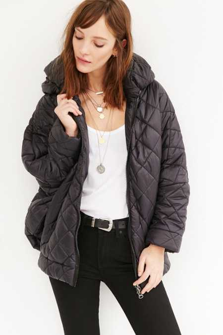 Oversized Cocoon Puffer Jacket