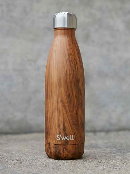 S'well Teakwood 17-Oz Water Bottle,NATURAL,ONE SIZE
