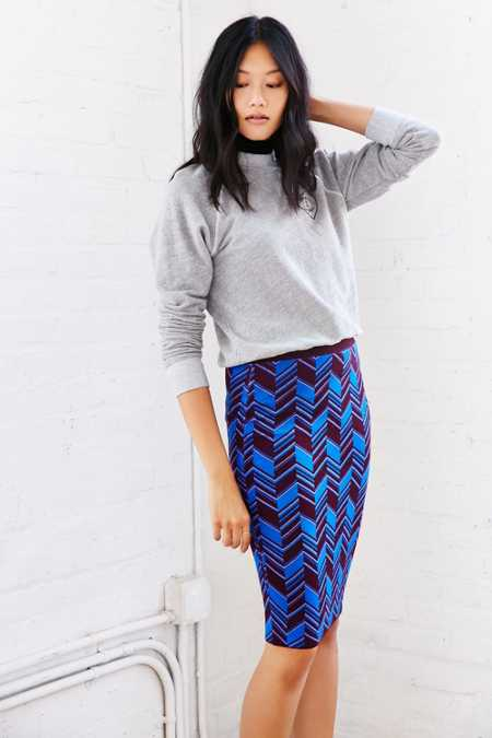 COPE London Midi Skirt