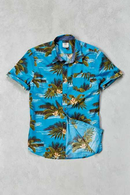 Vans Aloha Short-Sleeve Button-Down Shirt