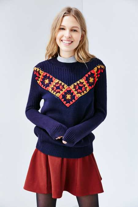 Ecote Crochet Luna Sweater