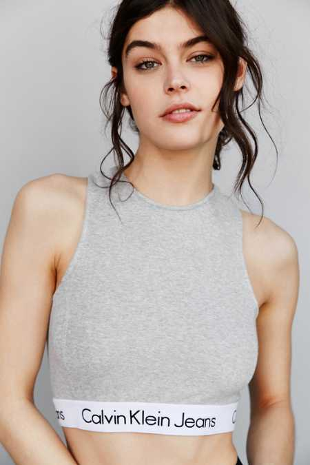 Calvin Klein For UO High Neck Tank Top