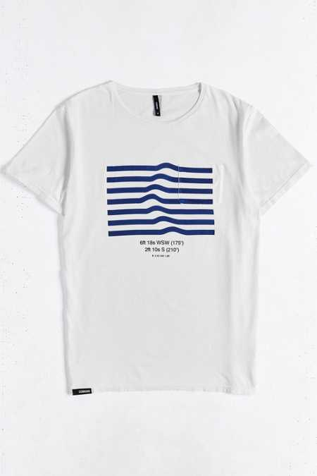 COMUNE Surf Report Pocket Tee