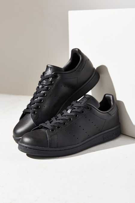 adidas Black Stan Smith Sneaker