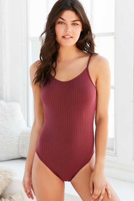 Out From Under Ribbed Bodysuit