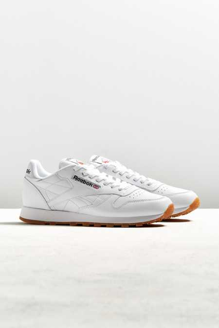 Reebok Classic Leather Gum Sole Sneaker