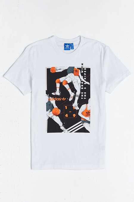 adidas Tongue BBall Tee