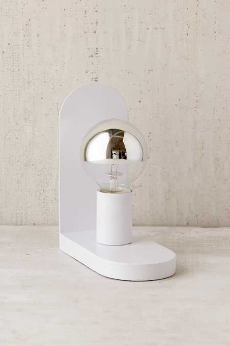 Oval Bookend Lamp