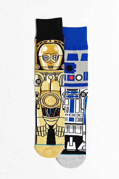 Stance X Star Wars Droid Sock,BLUE,ONE SIZE