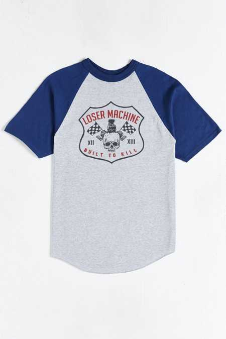 Loser Machine Speed Demon Raglan Tee