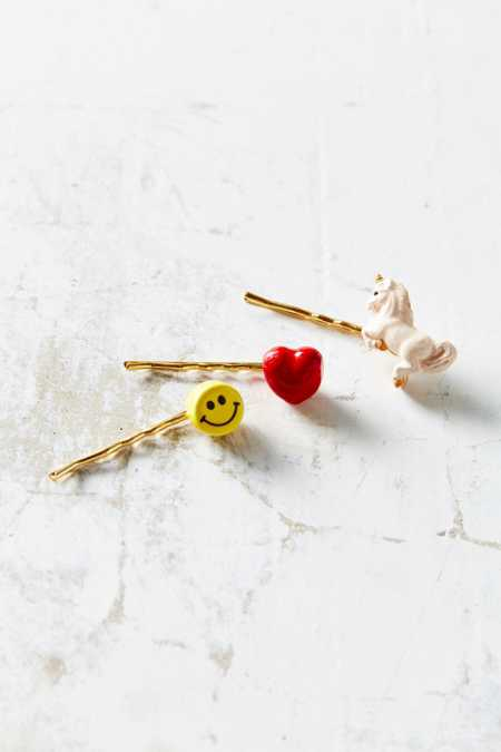 Venessa Arizaga X UO Unicorn Heart Hair Pin Set