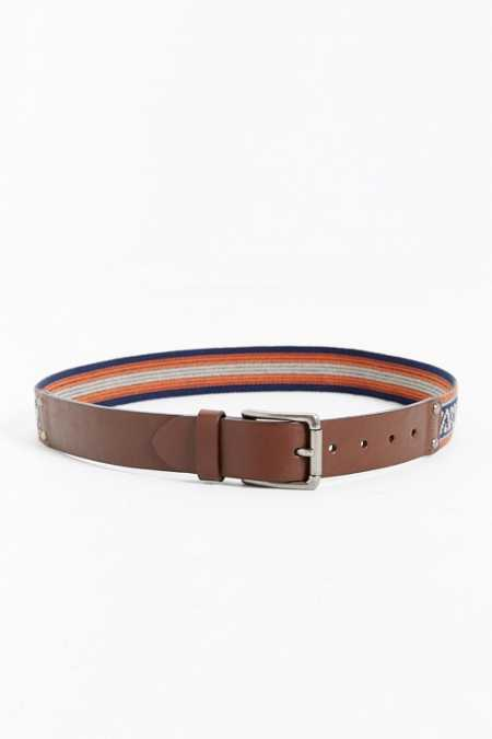 UO Leather Weave Belt