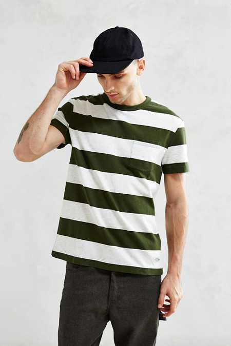 CPO Bowers Rugby Stripe Pocket Tee