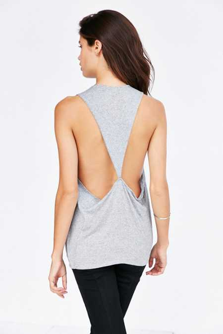Mouchette Triangle Back Muscle Tank Top