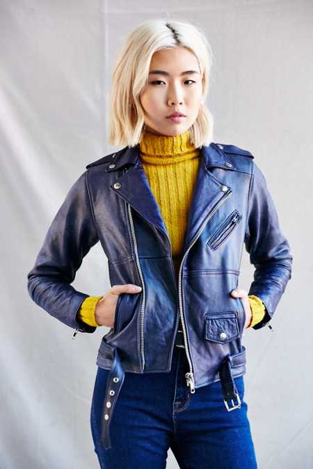 PeleCheCoco Leather Biker Jacket