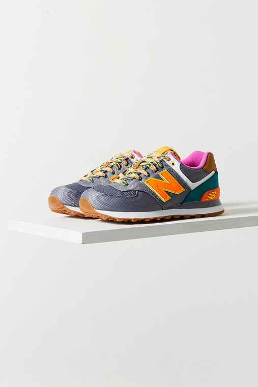 New Balance 574 Weekend Expedition Running Sneaker,GREY MULTI,10