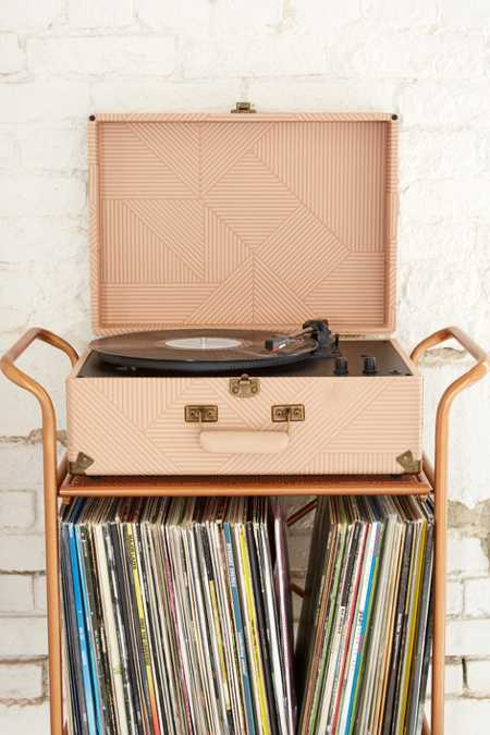 Crosley X UO Keepsake Geo Portable USB Vinyl Record Player