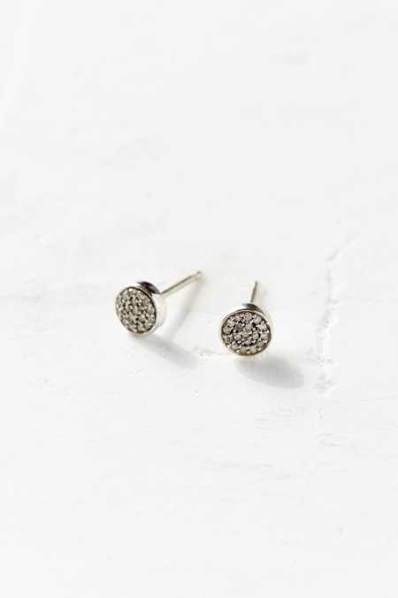 Adina Reyter Super Tiny Pave Disc Earring
