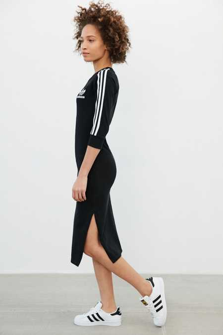 adidas Originals 3-Stripes Midi Dress