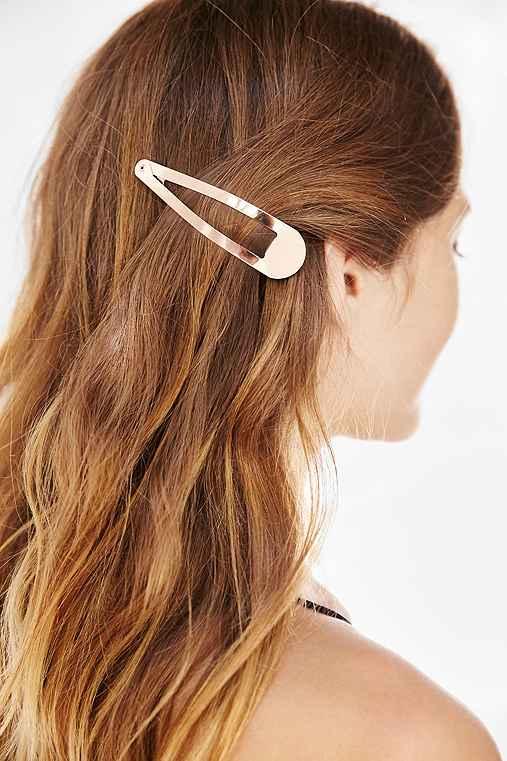 Oversized Flip Hair Clip,BLUSH,ONE SIZE