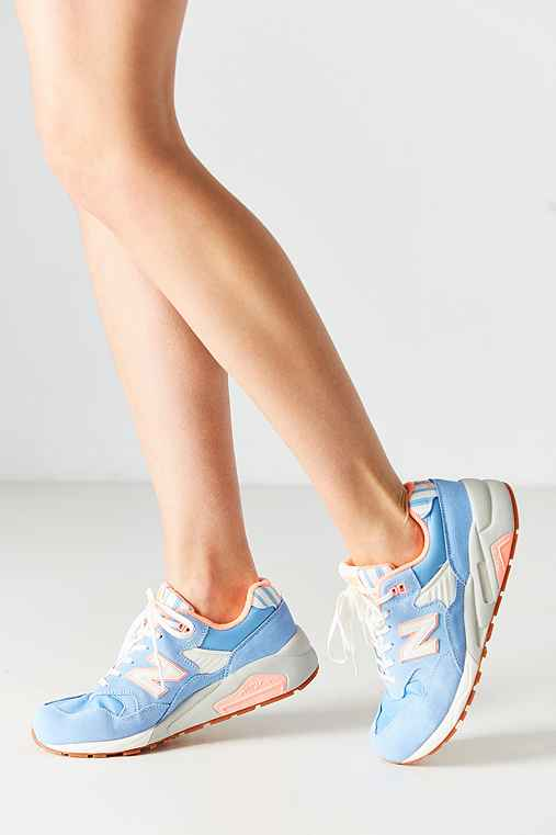 New Balance 580 Seaside Highway Running Sneaker,BLUE,9