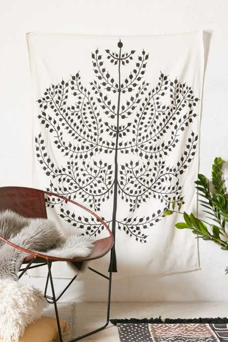 Assembly Home Stamped Tree Tapestry