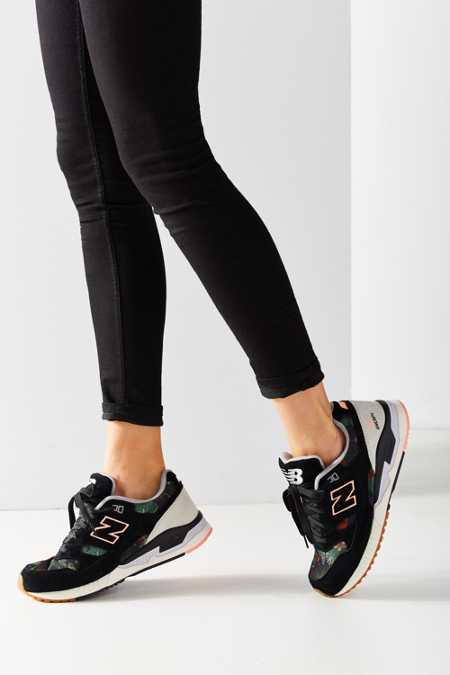 New Balance 530 Floral Ink Running Sneaker