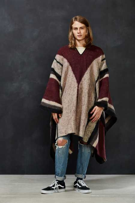 Brixton Barry Poncho Blanket