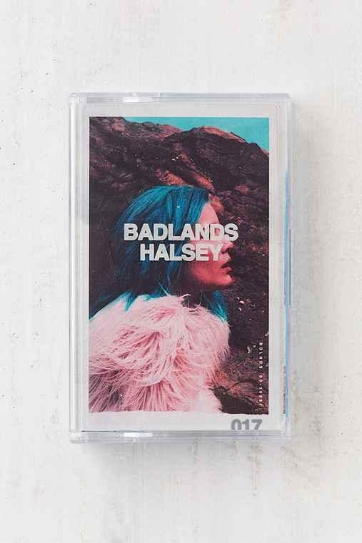 Halsey - Badlands Cassette Tape,BLUE,ONE SIZE