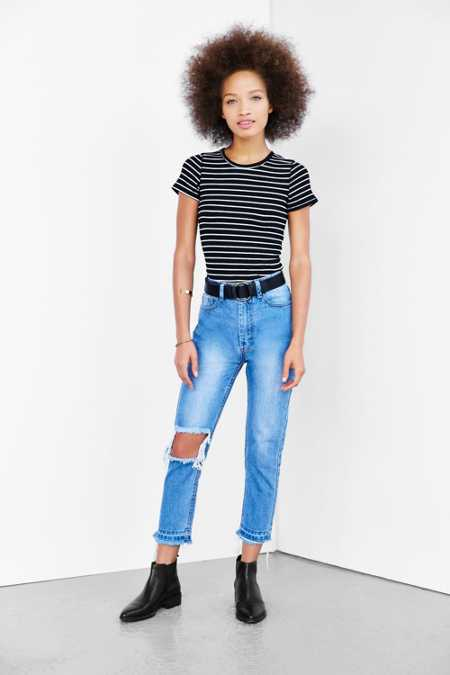 UNIF Line Up High-Rise Jean