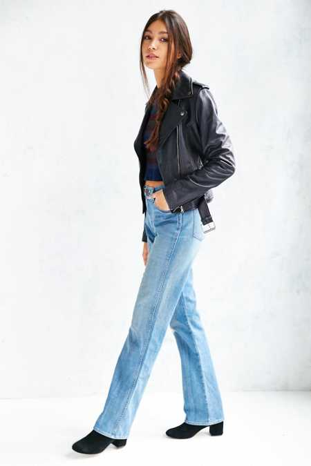 BDG High-Rise Straight Leg Jean