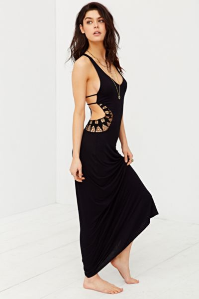 maxi dress urban outfitters nail