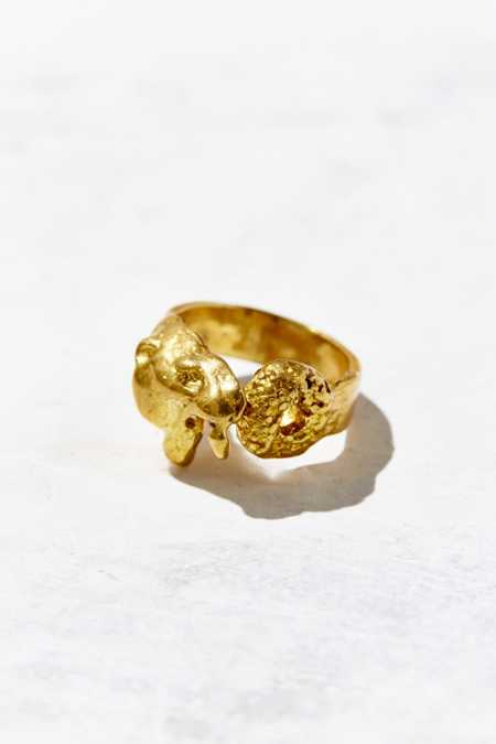 VERAMEAT Adjustable Sabertooth Tiger Sprinkles Donut Ring