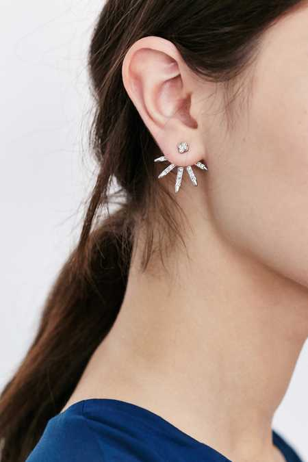All Ice Ear Hugger Earring