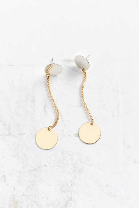 Dali Double Circle Drop Earring