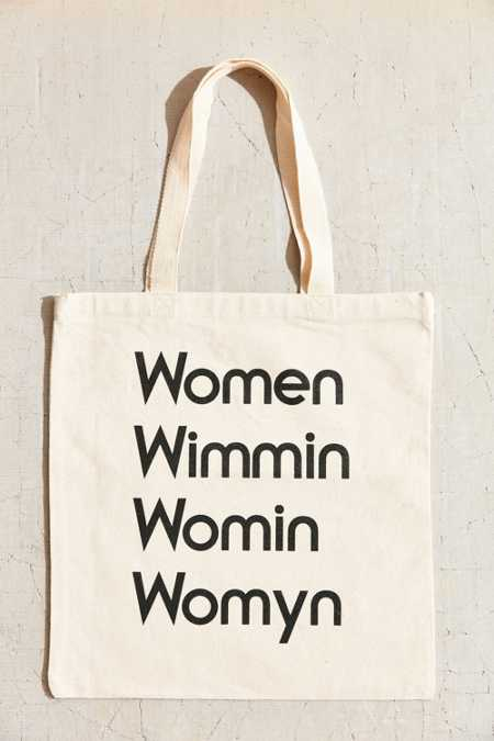 Modern Women Woman Tote Bag