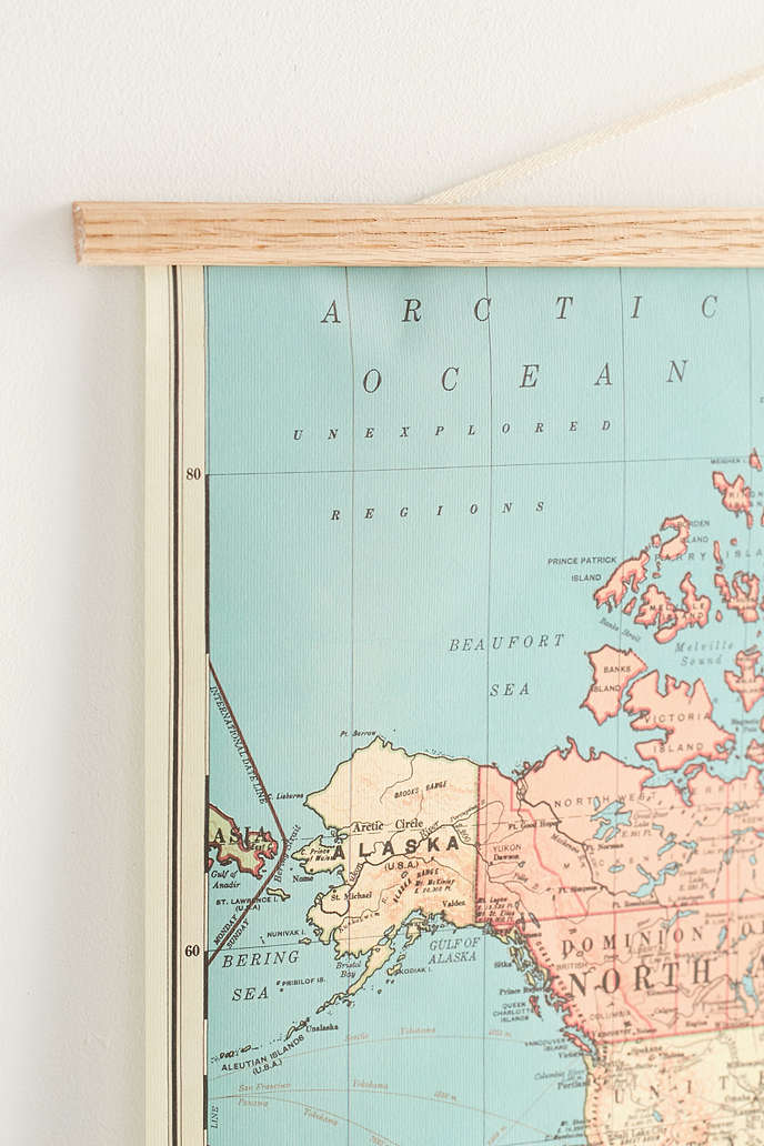 World map hanging googlesalt bacons map of the world wall hanging gumiabroncs Images