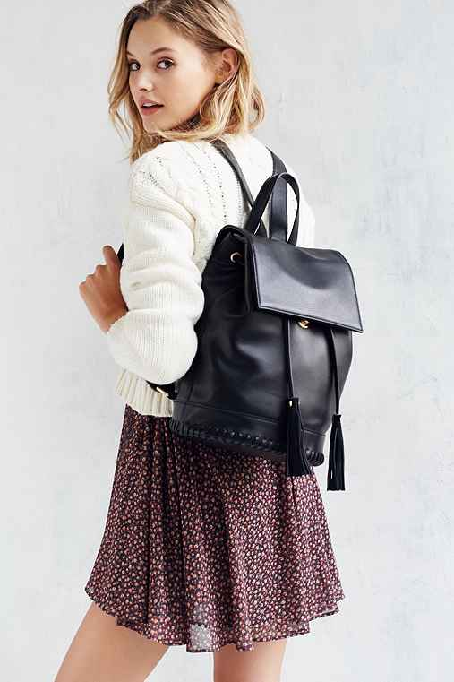 Silence + Noise Whipstitch Bucket Backpack - Urban Outfitters