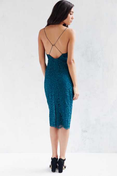 Kimchi Blue Pacey Lace Bodycon Dress