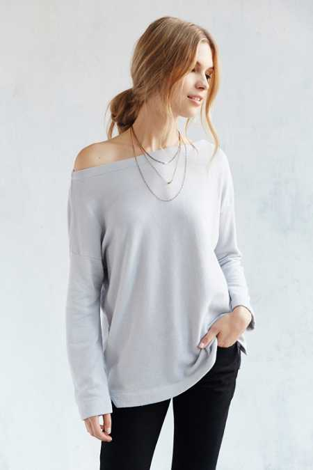 Truly Madly Deeply Jennie Off-The-Shoulder Sweatshirt